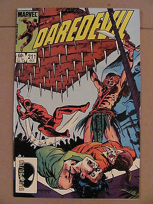 Daredevil #211 Marvel Comics NETFLIX 9.2 Near Mint-