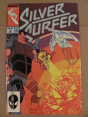 Silver Surfer #5 Marvel Comics 1987 Series 9.2 Near Mint