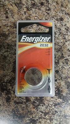 4 Pc Energizer Cr2032 Watch Batteries 3V Lithium
