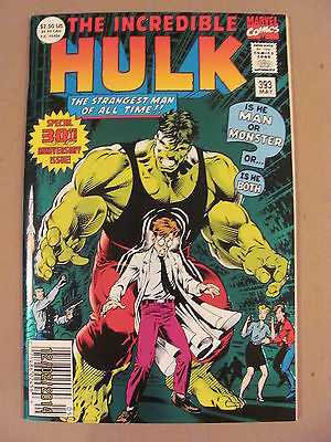 Incredible Hulk #393 Newsstand Edition 30th Anniversary Green Foil Stamped 72pgs