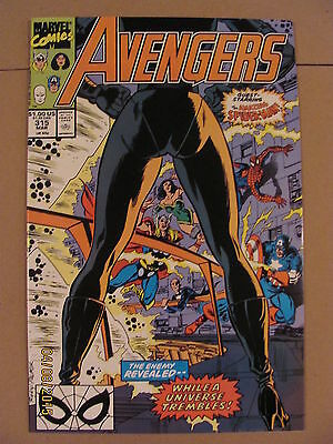 Avengers #315 Marvel Comics 1963 Series Spider-Man crossover Nebula app 9.2 NM-