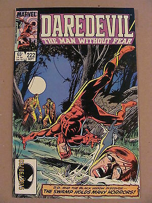 Daredevil #222 Marvel Comics NETFLIX 9.2 Near Mint-