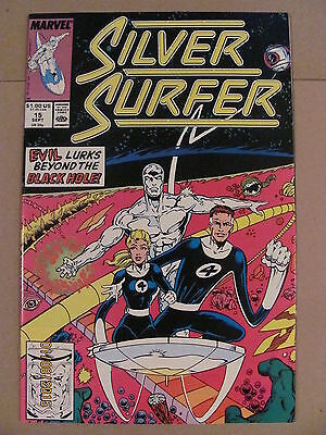 Silver Surfer #15 Marvel Comics 1987 Series 9.2 Near Mint