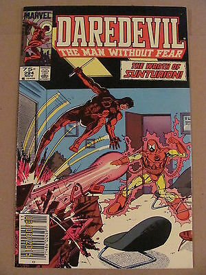 Daredevil #224 Marvel Comics NETFLIX Newsstand Edition