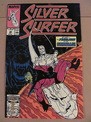 Silver Surfer #28 Marvel Comics 1987 Series 9.2 Near Mint