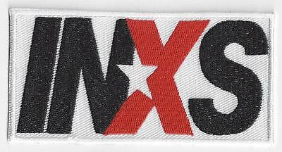INXS IRON ON PATCH  buy 2 of these get 1 free = 3 of these.