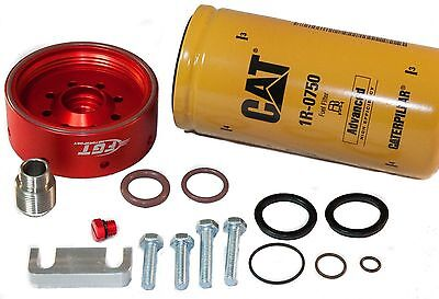 CAT Fuel Filter Adapter and Primer Seals COMPLETE KIT for 01-16' Chevy DURAMAX