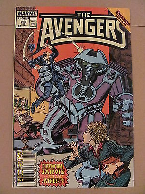 Avengers #298 Marvel Comics Newsstand Edition 9.2 Near Mint- Inferno crossover