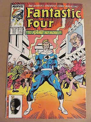 Fantastic Four #302 Marvel Comics 1961 Series 9.2 Near Mint-