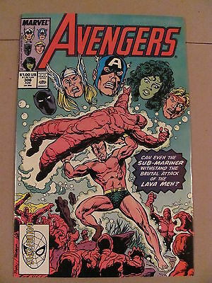 Avengers #306 Marvel Comics 1963 Series 9.2 Near Mint-
