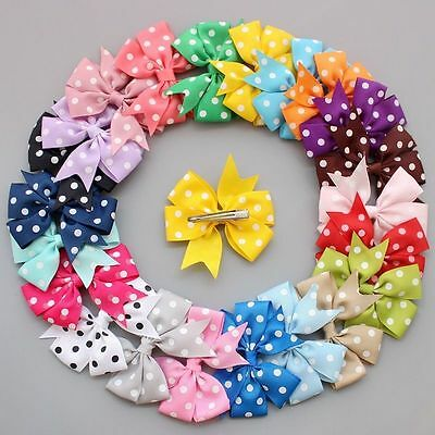 Handmade Pet hairpins puppy Hair Clips Dogs cat Bow Ribbon bowknot Grooming