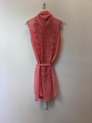 Matthew Williamson Women's Pink Dress, Size Uk 10