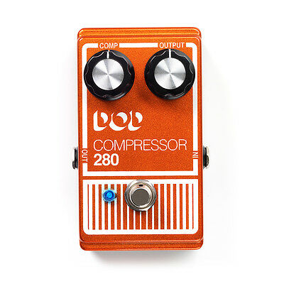 DigiTech DOD Compressor 280 Compression Guitar Effects Pedal Stompbox DOD280