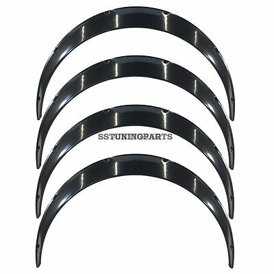 Universal Flares Fender Flare Wheel Arch Extension Arches Trims Jdm Wide Set Rum