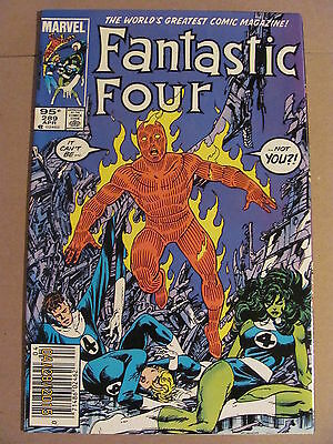 Fantastic Four #289 Marvel Comics 1961 Series FOX MOVIE Newsstand Editon 9.2 NM-