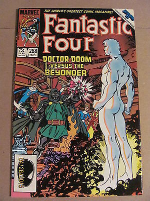 Fantastic Four #288 Marvel Comics 1961 Series FOX MOVIE Secret Wars II crossover