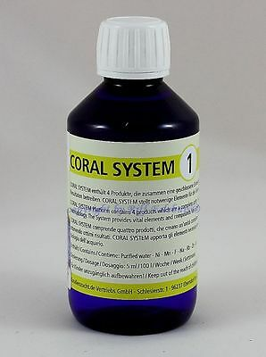 Coral System 1 Coloring Agent 1  500ml Korallenzucht  53,80€/L