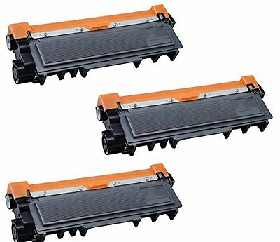 3 TONER COMPATIBILI REMAN BROTHER TN2320 BK NERO PER Brother MFC-L2700DN