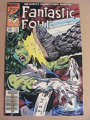 Fantastic Four #284 Marvel Comics 1961 Series FOX MOVIE Newsstand Edition