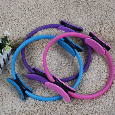 Deluxe Pilates/Yoga Resistance Ring Gymnastic/Aerobic/Gym Fitness Circle