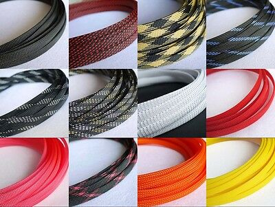 Mix Color 10mm Encryption Braided Cable Sleeving/Sheathing/Auto Wire Harnessing