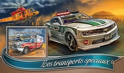 Z08 IMPERFORATED TG16320b TOGO 2016 Special transport MNH