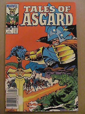 Tales of Asgard #1 Marvel Comics 1984 One Shot Newsstand Edition