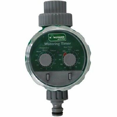 Electronic Water Timer Controlled Watering System Garden Patio Plants Gardening