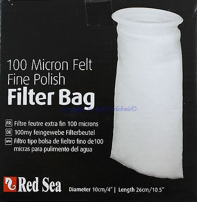 Red Sea Filter Bag 100 Micron Felt Filterbeutel für Aquarien