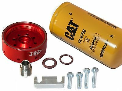 CAT Fuel Filter Adapter Kit for 01-16' DURAMAX LB7/LLY/LBZ/LMM/LML Chevy GMC