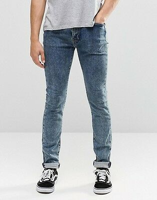 Levi's 519 Super Skinny Jeans 510 plus W28-38 L30-34 RRP £85-105 *ClearOut SALE*