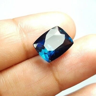 Video!! 4.69 cts Certified Natural Blue Indicolite TOURMALINE @Afghanistan WOW