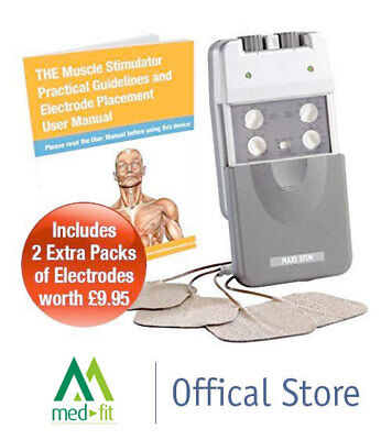 Med-Fit Maxi-Stim Electronic Muscle Stimulator and Muscle Toning Machine