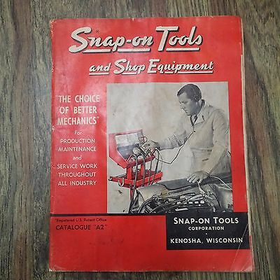 Vintage 1967 Snap-On Tools Catalog