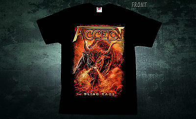 ACCEPT-Blind Rage-heavy metal band-Sabaton-Helloween , T_shirt-sizes:S to 7XL