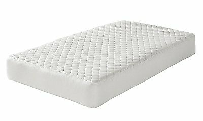 Greenbuds Baby Organic Wool Quilted Crib Mattress Pad, Excellent Protector
