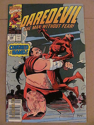 Daredevil #296 Marvel Comics NETFLIX 9.2 Near Mint- Newsstand Edition