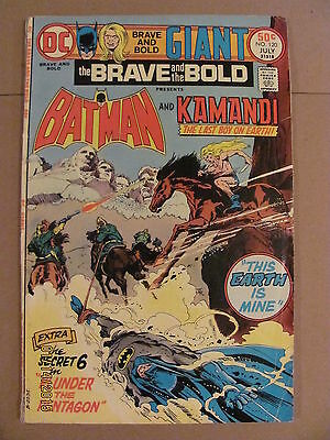 Brave and the Bold #120 Giant 68 pages DC Comics Batman Kamandi