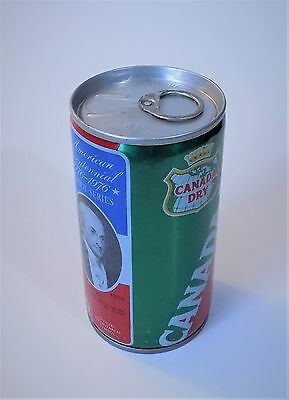 Canada Dry Ginger Ale Patriot Series Soda Can 12 Oz Metal Pull Tab Top Bo 1976