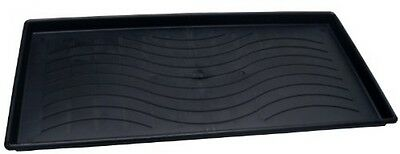 Dial Industries 22304 Large Black Plastic Boot and Utility Tray