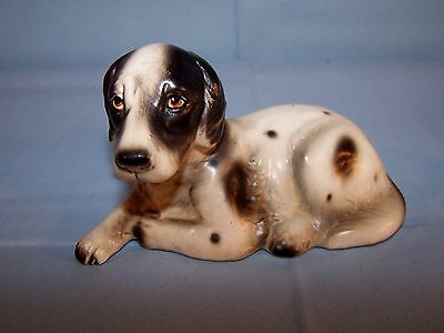 VTG Japan Porcelain Spaniel Puppy Dog Figurine English Springer Water Brittany