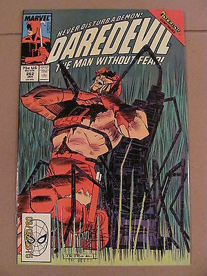 Daredevil #262 Marvel Comics NETFLIX 9.2 Near Mint- Inferno crossover