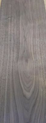 NATURAL WOOD Sheet 1480mm x 220mm American Walnut Veneer 58.2 x 8.6 inches