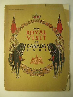 The Royal Visit to Canada MONTREAL STAR September 1901 EDWARD VII with address