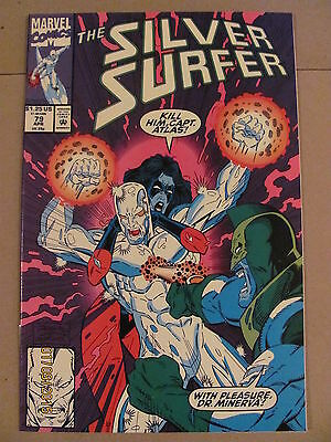 Silver Surfer #79 Marvel Comics 1987 Series 9.2 Near Mint