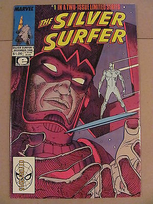Silver Surfer #1 & #2 Epic Mini Series Complete Marvel 1988 Stan Lee Morbius