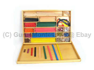 NEW Montessori Mathematics Material - Geometry Sticks Material