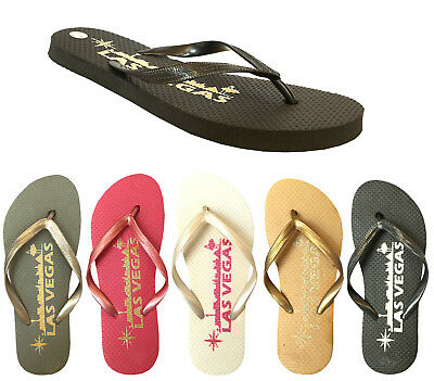 WHOLESALE LOT 48prs Women's Vegas Skyline Sandals Souvenir Flip Flop--355