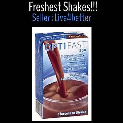 ORIGINAL New OPTIFAST 800 CHOCOLATE READY DRINK SHAKES| 27 SERVINGS PER CASE