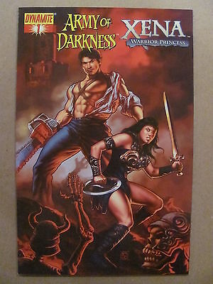 Army of Darkness Xena Warrior Princess #1 Dynomite 2008 Udon Studios Variant 9.4